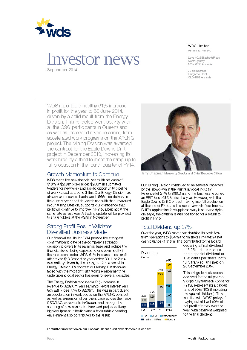 WDS_Investor News_Page_1